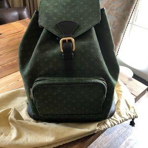 Handbags - Louis Vuitton canvas backpack. Rare